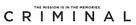 Criminal - Logo (xs thumbnail)