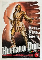 Buffalo Bill - Italian Movie Poster (xs thumbnail)