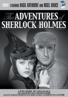 The Adventures of Sherlock Holmes - DVD cover (xs thumbnail)