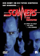 Scanners III: The Takeover - German DVD cover (xs thumbnail)