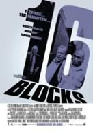 16 Blocks - German Movie Poster (xs thumbnail)