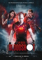 Bloodshot - Czech Movie Poster (xs thumbnail)