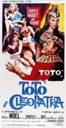 Totò e Cleopatra - Italian Movie Poster (xs thumbnail)