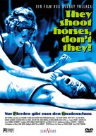 They Shoot Horses, Don't They? - German DVD cover (xs thumbnail)