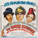 The Three Stooges Go Around the World in a Daze - Movie Poster (xs thumbnail)