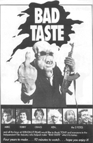 Bad Taste - Movie Poster (xs thumbnail)