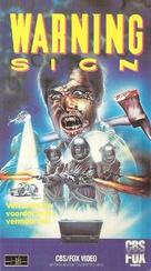 Warning Sign - Dutch VHS movie cover (xs thumbnail)