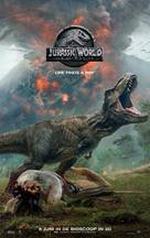 Jurassic World: Fallen Kingdom - Dutch Movie Poster (xs thumbnail)