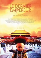The Last Emperor - French Re-release movie poster (xs thumbnail)
