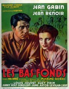 Bas-fonds, Les - Belgian Movie Poster (xs thumbnail)
