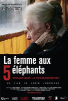 Die Frau mit den 5 Elefanten - French Movie Poster (xs thumbnail)