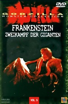 Furankenshutain no kaijû: Sanda tai Gaira - German DVD cover (xs thumbnail)