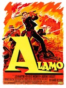 The Alamo - French Movie Poster (xs thumbnail)