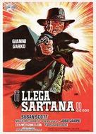 Una nuvola di polvere... un grido di morte... arriva Sartana - Spanish Movie Poster (xs thumbnail)