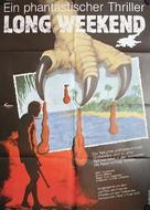 Long Weekend - German Movie Poster (xs thumbnail)