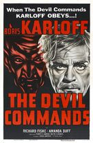 The Devil Commands - Movie Poster (xs thumbnail)