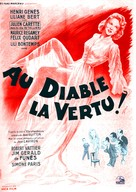Au diable la vertu - French Movie Poster (xs thumbnail)
