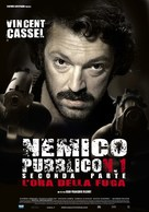 L'ennemi public n°1 - Italian Movie Poster (xs thumbnail)
