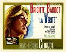 La vérité - British Movie Poster (xs thumbnail)
