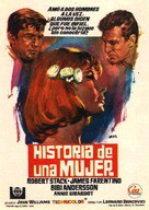 Storia di una donna - Spanish Movie Poster (xs thumbnail)