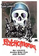 Psychomania - German DVD movie cover (xs thumbnail)
