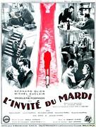 L'invité du mardi - French Movie Poster (xs thumbnail)