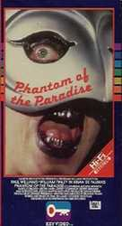 Phantom of the Paradise - VHS movie cover (xs thumbnail)