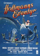 The Tales of Hoffmann - Danish Movie Poster (xs thumbnail)
