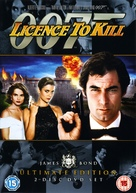 Licence To Kill - British Movie Cover (xs thumbnail)