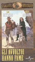 Two Mules for Sister Sara - Italian VHS movie cover (xs thumbnail)