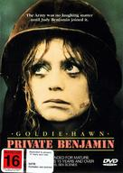 Private Benjamin - New Zealand DVD cover (xs thumbnail)