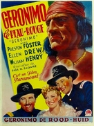 Geronimo - Belgian Movie Poster (xs thumbnail)