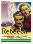 Rebecca - Belgian Movie Poster (xs thumbnail)