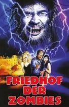 Cementerio del terror - German DVD cover (xs thumbnail)