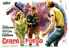 Ring of Fire - Spanish Movie Poster (xs thumbnail)