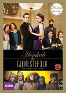 """""""Upstairs, Downstairs"""" - Danish DVD movie cover (xs thumbnail)"""