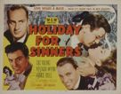 Holiday for Sinners - Movie Poster (xs thumbnail)