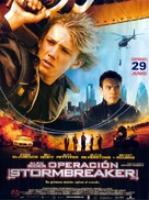 Stormbreaker - Spanish Movie Poster (xs thumbnail)