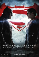 Batman v Superman: Dawn of Justice - Mexican Movie Poster (xs thumbnail)