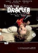 Blood for Dracula - Dutch DVD movie cover (xs thumbnail)