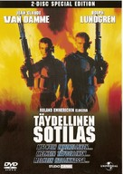 Universal Soldier - Finnish DVD movie cover (xs thumbnail)