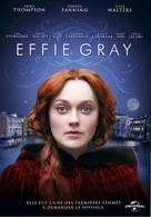 Effie Gray - French DVD cover (xs thumbnail)