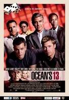 Ocean's Thirteen - Polish Movie Poster (xs thumbnail)