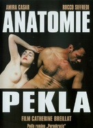 Anatomie de l'enfer - Czech DVD cover (xs thumbnail)
