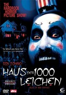 House of 1000 Corpses - German DVD cover (xs thumbnail)