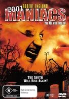 2001 Maniacs - Australian DVD movie cover (xs thumbnail)