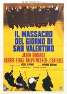 The St. Valentine's Day Massacre - Italian Movie Poster (xs thumbnail)
