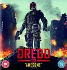 Dredd - British Blu-Ray movie cover (xs thumbnail)