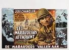 Merrill's Marauders - Belgian Movie Poster (xs thumbnail)