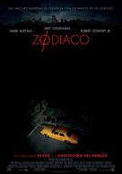 Zodiac - Mexican Movie Poster (xs thumbnail)